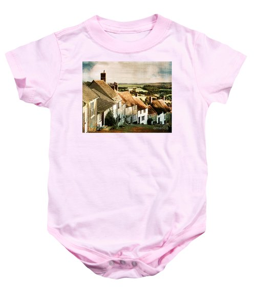 A Past Revisited Baby Onesie