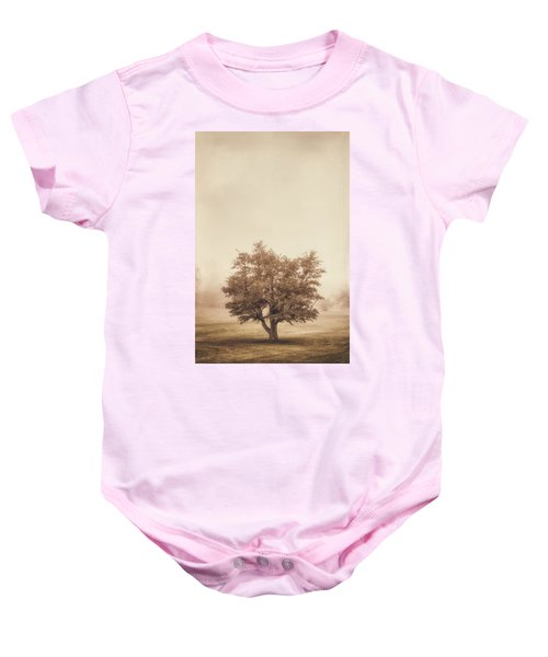 A Tree In The Fog Baby Onesie