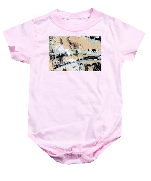 Abstract Original Painting Number Seven  Baby Onesie