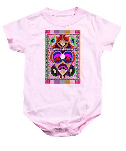 African Art Style Mascot Wizard Magic Comedy Comic Humor  Navinjoshi Rights Managed Images Clawn    Baby Onesie by Navin Joshi