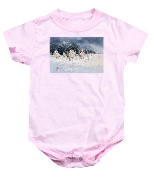 Alberta Landscape 7 Baby Onesie