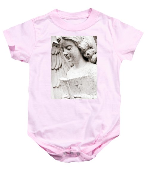 Angels Prayers And Miracles Baby Onesie