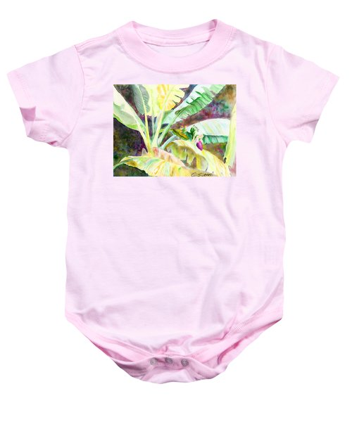 Banana Tree Baby Onesie