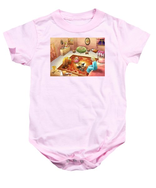 Bedtime For Tammy Baby Onesie