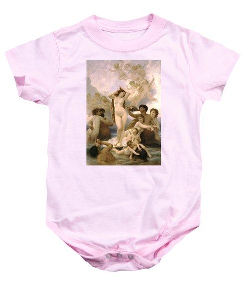 Birth Of Venus Baby Onesie