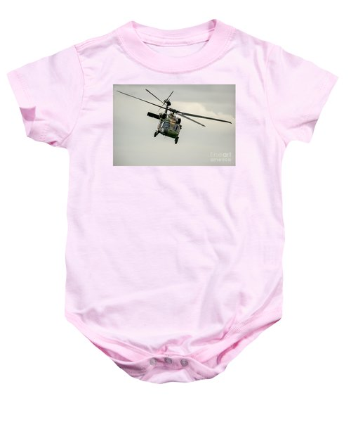 Black Hawk Swoops Baby Onesie