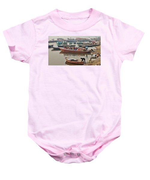 The Journey - Varanasi India Baby Onesie