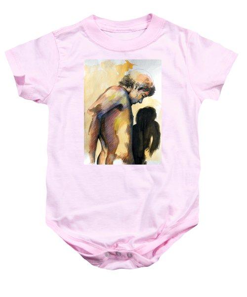 Boy Looking For Truth Baby Onesie