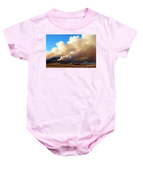 Burning In The Black Hills Baby Onesie
