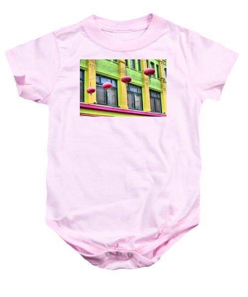 Chinatown Colors Baby Onesie