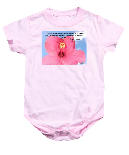 Choose Your Quote Choose Your Picture 4 Baby Onesie