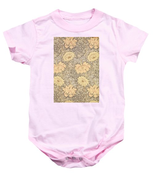 Chrysanthemum Baby Onesie
