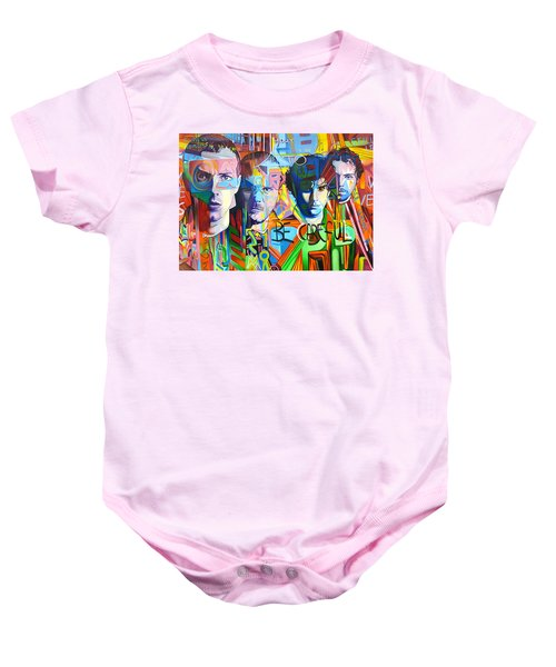 Coldplay Baby Onesie by Joshua Morton