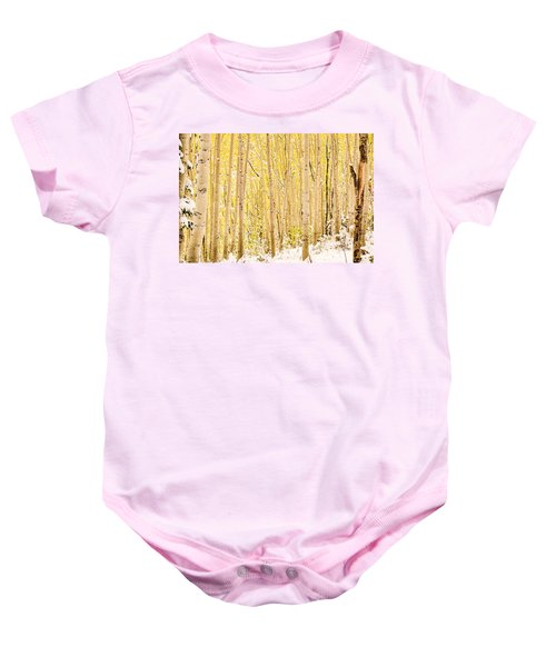 Colored Pencils Baby Onesie