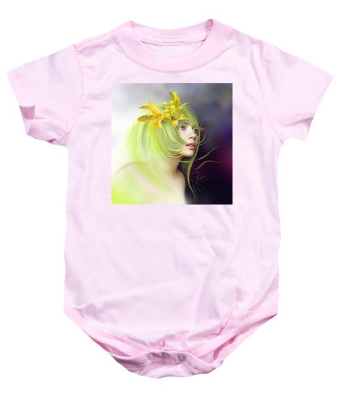 Coming Of Spring Baby Onesie