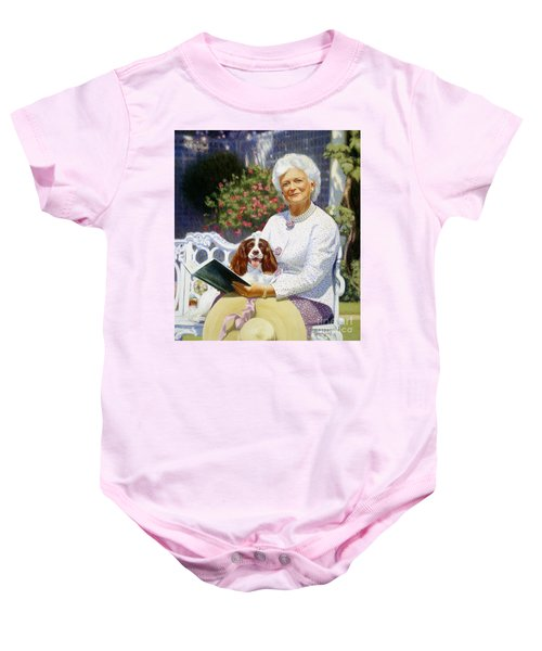 Companions In The Garden Baby Onesie by Candace Lovely