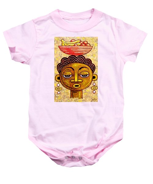 Congalese Face 1 Baby Onesie