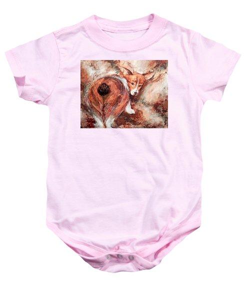 Corgi Butt Baby Onesie