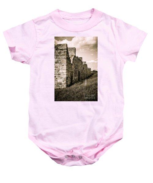 Crown Point New York Old British Fort Ruin Baby Onesie