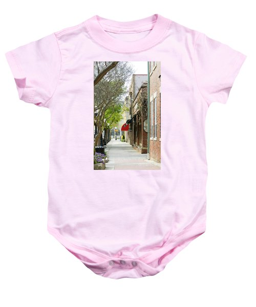 Downtown Aiken South Carolina Baby Onesie