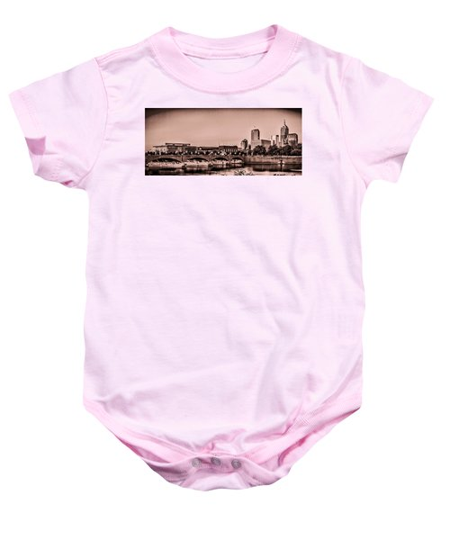 Downtown Indianapolis Baby Onesie