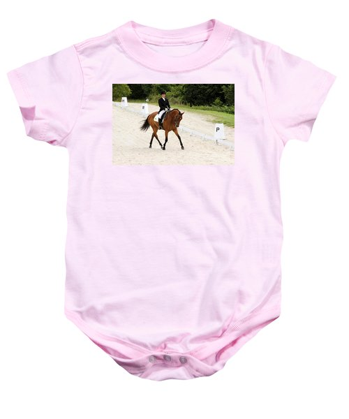 Dressage Test Baby Onesie