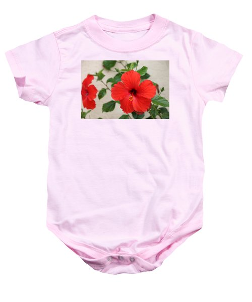 Floral Beauty  Baby Onesie