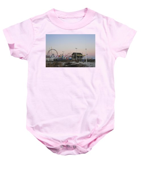 Fun At The Shore Seaside Park New Jersey Baby Onesie