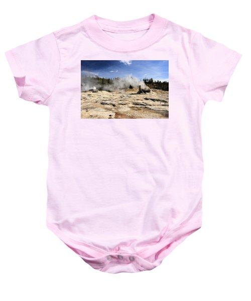 Giant Geyser Group Baby Onesie