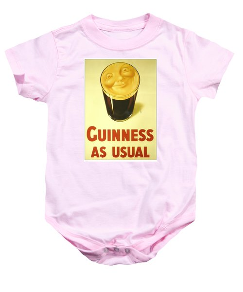 Guinness As Usual Baby Onesie