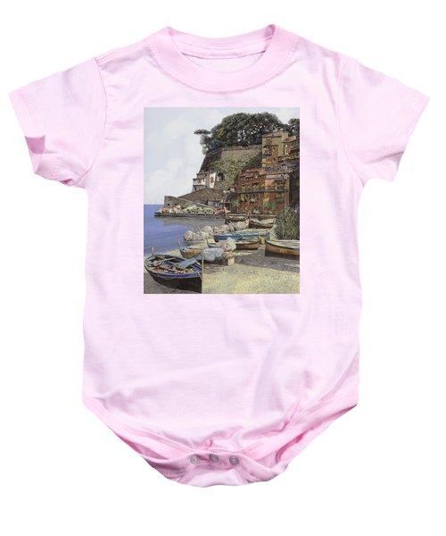 il porto di Sorrento Baby Onesie