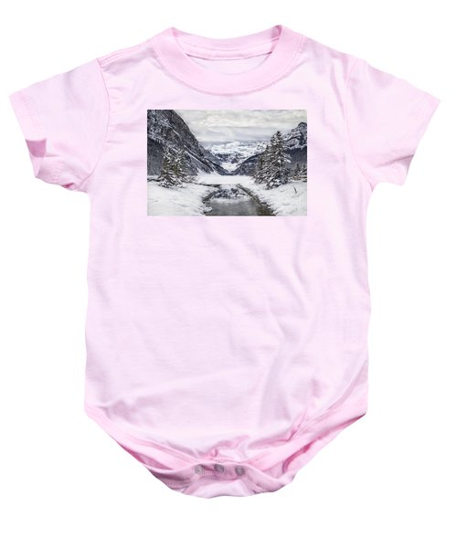 In The Heart Of The Winter Baby Onesie