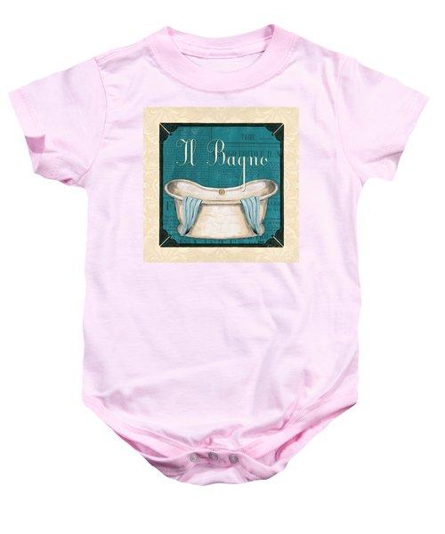 Italianate Bath Baby Onesie