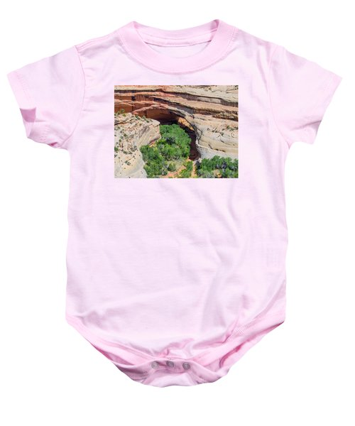 Kachina Bridge Baby Onesie
