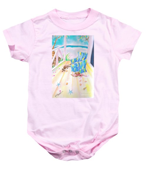 Lazy Afternoon Baby Onesie