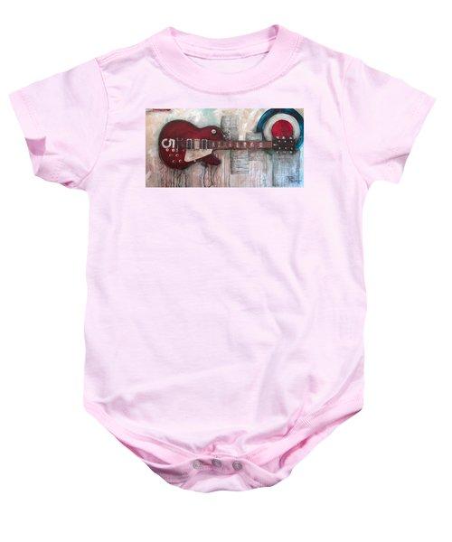 Les Paul Number 5 Baby Onesie