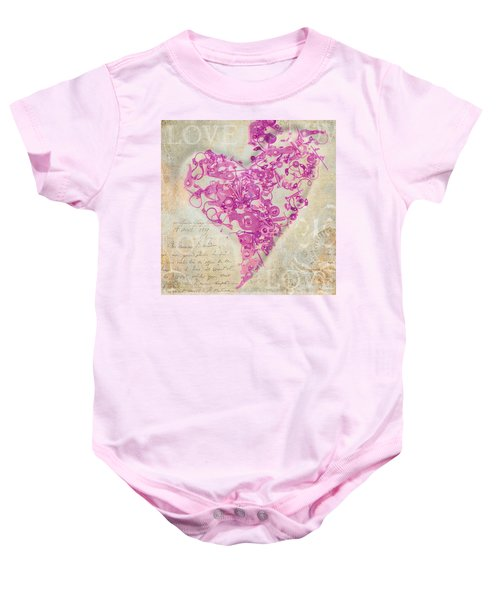 Love Is A Gift Baby Onesie