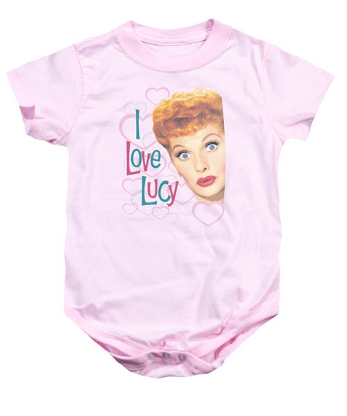 Lucy - Hollywood Open Hearts Baby Onesie
