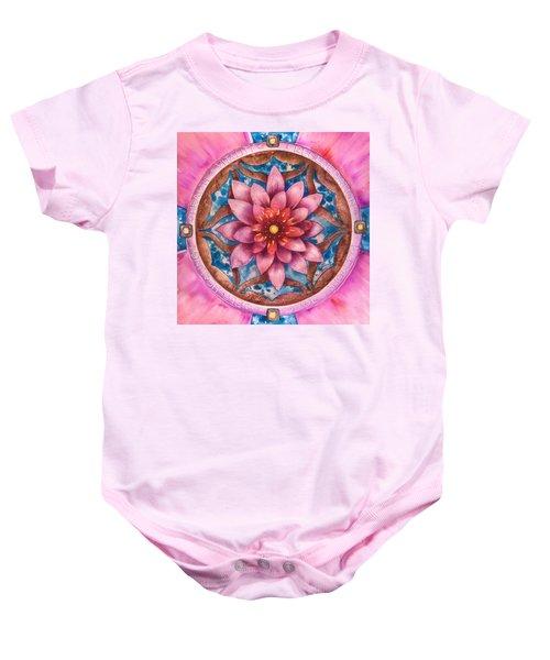 Mandala Of Health Baby Onesie