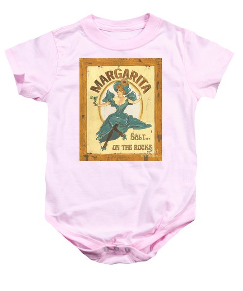 Margarita Salt On The Rocks Baby Onesie