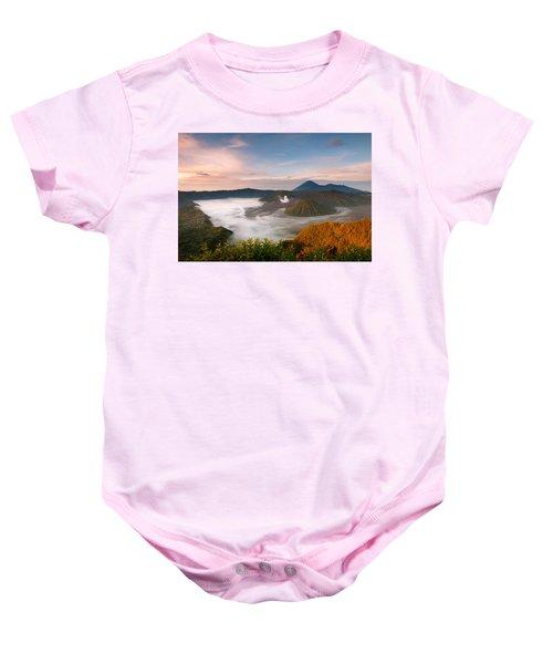 Mount Bromo Sunrise Baby Onesie