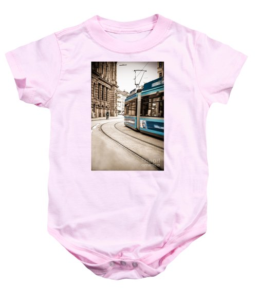 Munich City Traffic Baby Onesie