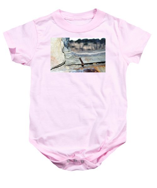 Nail On The Trail Baby Onesie