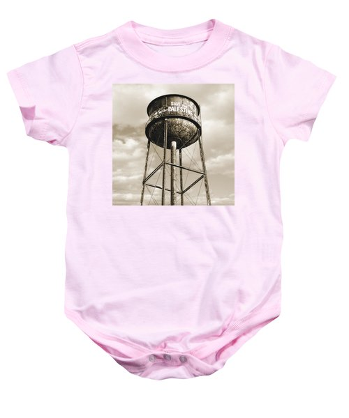 New York Water Towers 11 - Greenpoint Brooklyn Baby Onesie