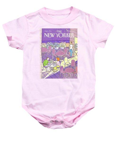New Yorker August 3rd, 1992 Baby Onesie