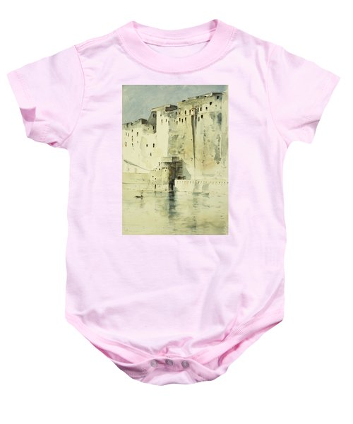 Old Fortress Naples Baby Onesie