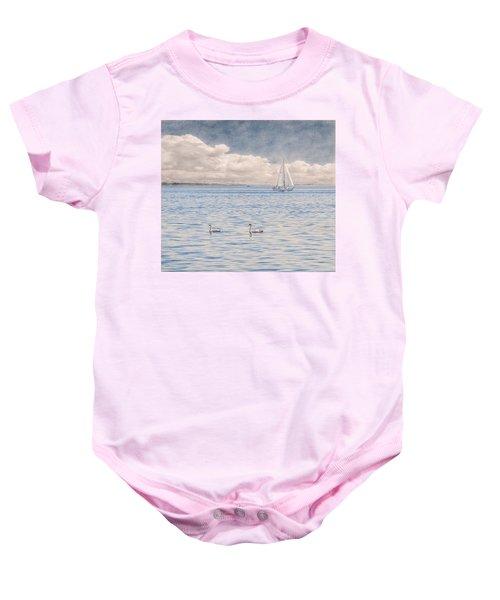 On A Summer's Breeze Baby Onesie