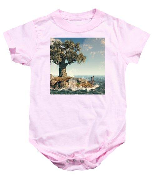 One Tree Island Baby Onesie