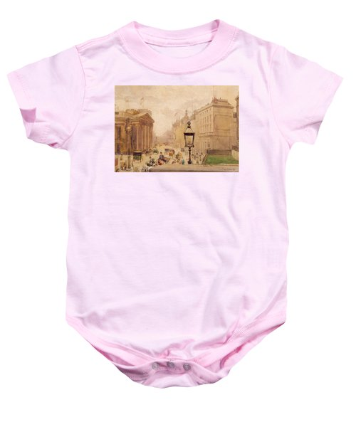 Pall Mall From The National Gallery Baby Onesie