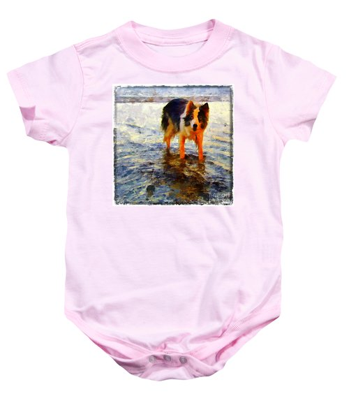 Paws For Thought Baby Onesie